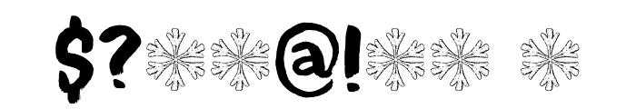 Bitterbrush DEMO Regular Font OTHER CHARS