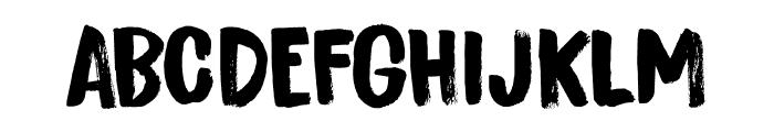 Bitterbrush DEMO Regular Font UPPERCASE