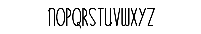 Bittersweet NF Font LOWERCASE