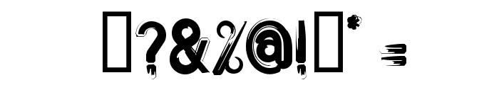 Bitume Font OTHER CHARS