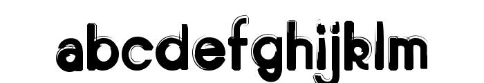 Bitume Font LOWERCASE