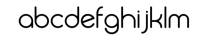 Biysk Regular Font LOWERCASE