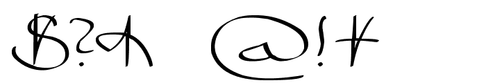 Bizancia Font OTHER CHARS