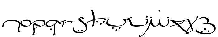 Bizancia Font LOWERCASE