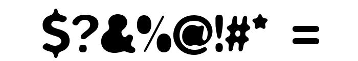 biliz_blurRegular Font OTHER CHARS
