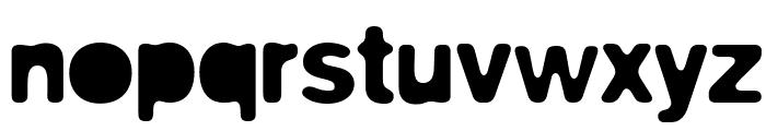 biliz_blurRegular Font LOWERCASE