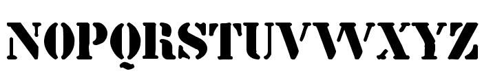 billieKid Font UPPERCASE