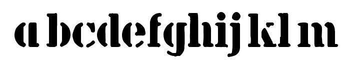 billieKid Font LOWERCASE