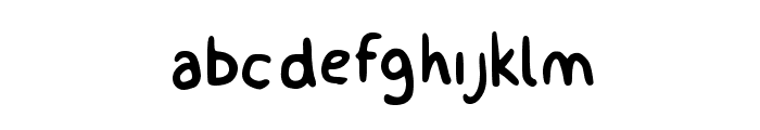 billy Font LOWERCASE