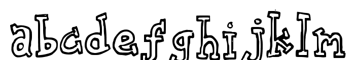 biscuit tin Font LOWERCASE