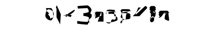 bitstorm condensed Font OTHER CHARS