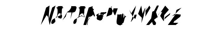 bitstorm maximumcondensed oblique Font UPPERCASE