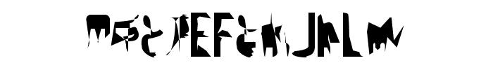 bitstorm maximumcondensed Font UPPERCASE