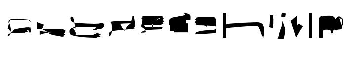 bitstorm maximumextended Font LOWERCASE