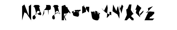 bitstorm ultracondensed Font UPPERCASE