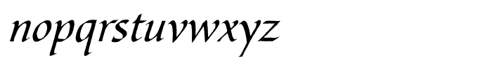 Bible Script Package Font LOWERCASE