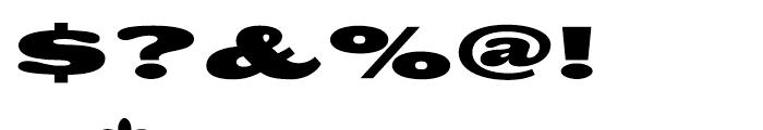Big Boy Regular Font OTHER CHARS