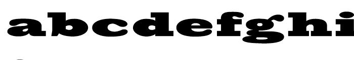 Big Boy Regular Font LOWERCASE