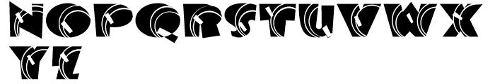 Big George NF Regular Font UPPERCASE