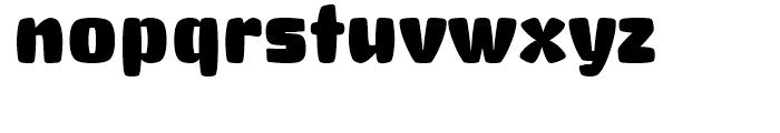 Big Stuff Regular Font LOWERCASE