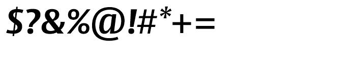 Big Vesta Bold Italic Font OTHER CHARS