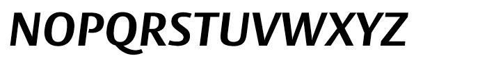 Big Vesta Bold Italic Font UPPERCASE