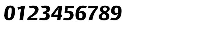 Big Vesta ExtraBold Italic Font OTHER CHARS