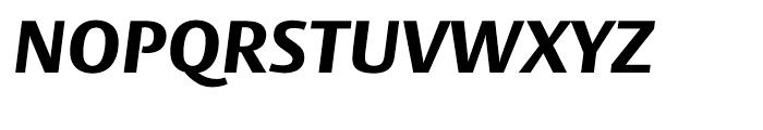 Big Vesta ExtraBold Italic Font UPPERCASE