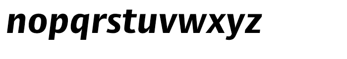 Big Vesta ExtraBold Italic Font LOWERCASE