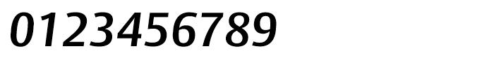 Big Vesta SemiBold Italic Font OTHER CHARS
