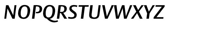 Big Vesta SemiBold Italic Font UPPERCASE