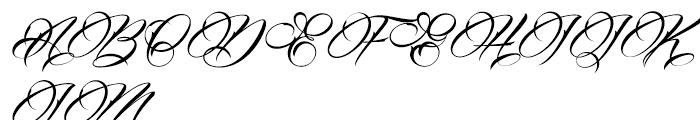 Billion Stars Font UPPERCASE