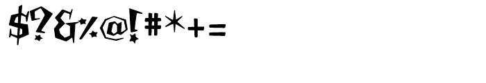 Billsville Regular Font OTHER CHARS