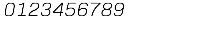 Bio Sans Light Italic Font OTHER CHARS