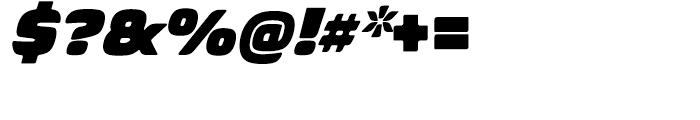 Biome Basic Ultra Italic Font OTHER CHARS