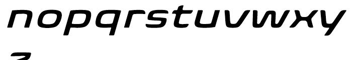 Biome Wide Semi Bold Italic Font LOWERCASE