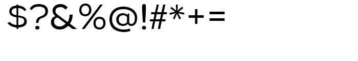 Biondi Sans Book Font OTHER CHARS