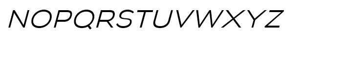 Biondi Sans Light Italic Font LOWERCASE