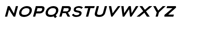 Biondi Sans Regular Italic Font LOWERCASE