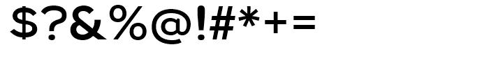 Biondi Sans Regular Font OTHER CHARS