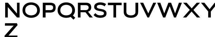 Biondi Sans Regular Font UPPERCASE