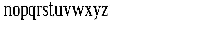 Bistecca Regular Font LOWERCASE