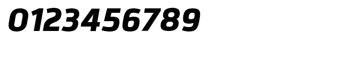 Bitner ExtraBold Italic Font OTHER CHARS