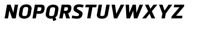 Bitner ExtraBold Italic Font UPPERCASE