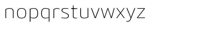 Bitner Light Font LOWERCASE