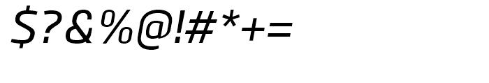 Bitner Medium Italic Font OTHER CHARS