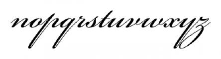 Bickham Script® Pro 3 Regular Font LOWERCASE