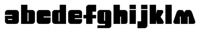 Big Jim Roberts SRF Regular Font UPPERCASE