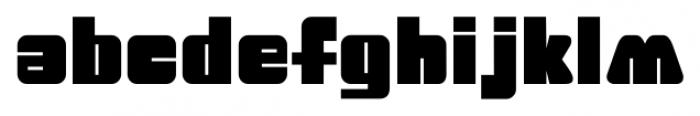 Big Jim Roberts SRF Regular Font LOWERCASE