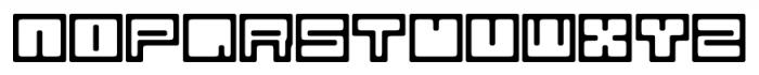 Bim Regular Font LOWERCASE